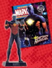 Classic Marvel Figurine Collection #046 Captain Marvel Eaglemoss Publications